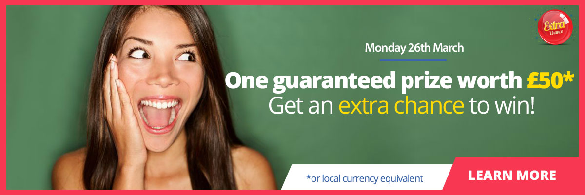 £50 Extra Chance Promotion